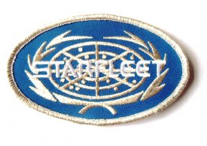 Star Trek Starfleet Oval Logo 10cm Patch